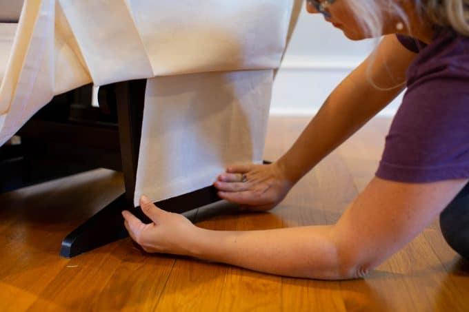 Glider Skirt Installation LHPhoto 26
