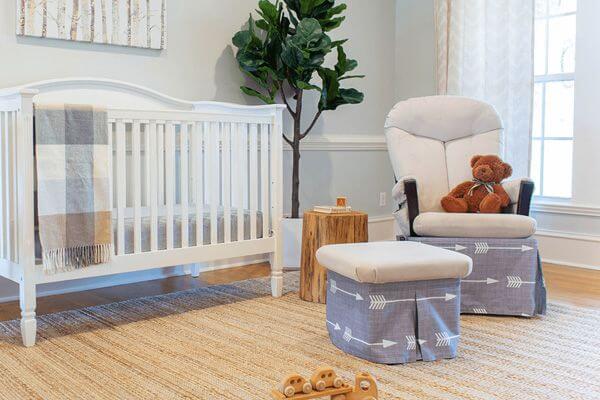 Baby Nursery Glider